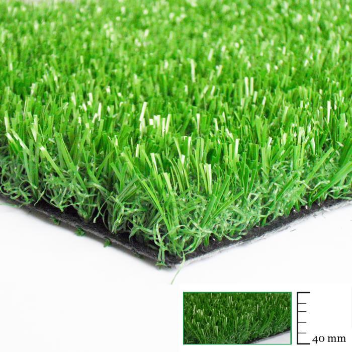 Erba sintetica 40 mm erba sintetica viridium for Bricoman erba sintetica